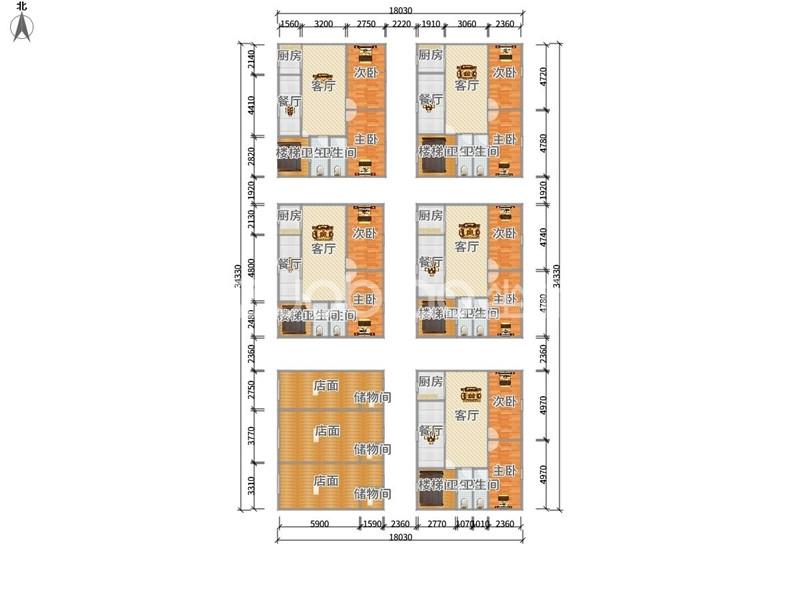 伏龙山北路 2室1厅 185万