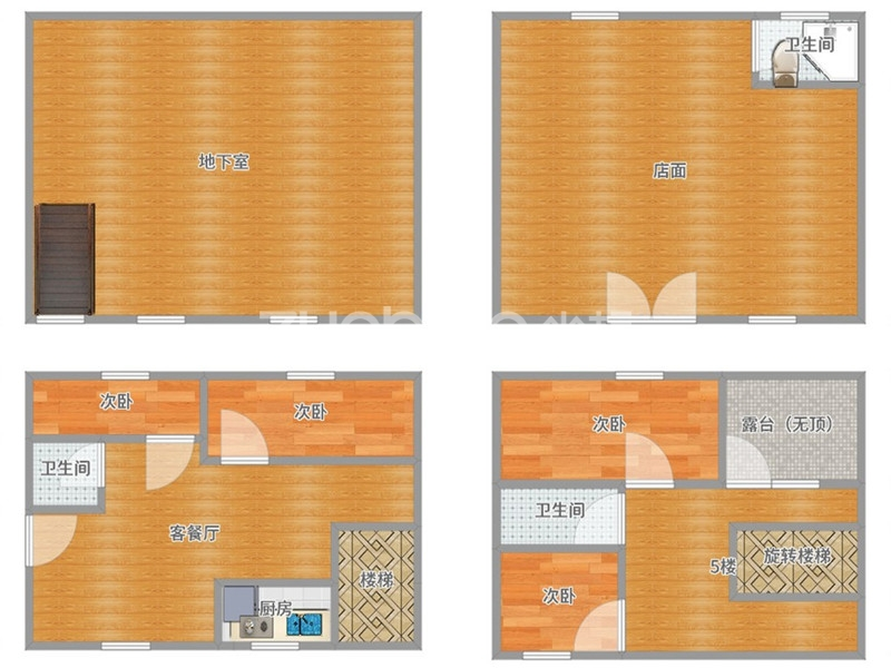青口西區 5室5廳 400萬