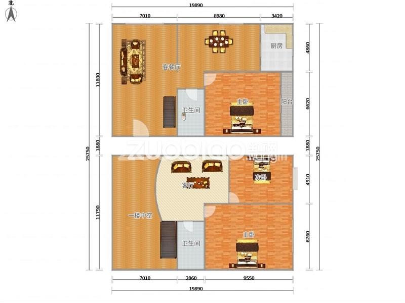 经贝家园 3室3厅 310万