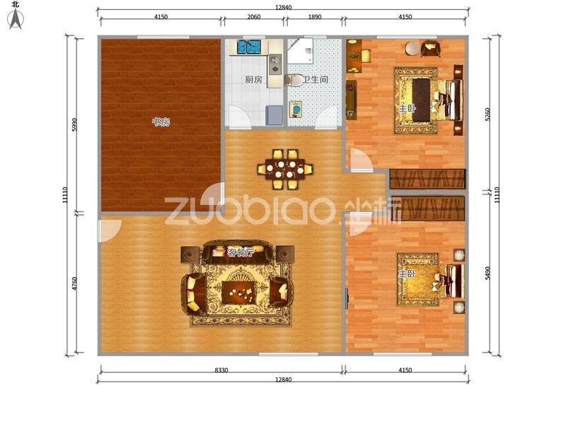 鹏城小区 3室2厅 180万