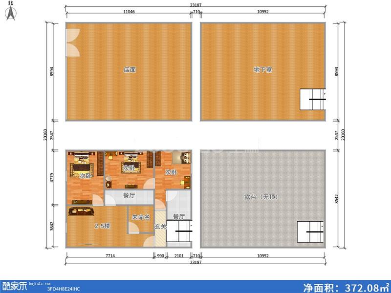伏龙山北路 10室10厅 538万