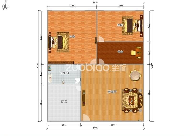 賓王市場 3室2廳 210萬